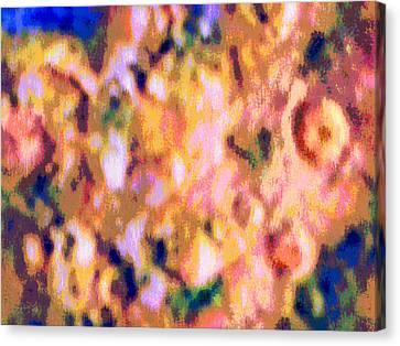 Chopped Salad Canvas Print by Bruce Shannahoff