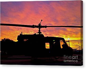 Chopper Down - No.0563 Canvas Print