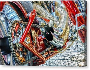 Canvas Print featuring the photograph Open Road Dream by John Swartz