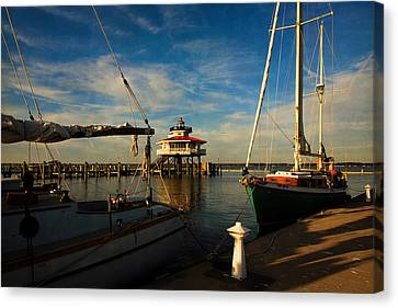 Choptank Lighthouse Canvas Print