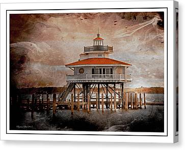 Choptank River Lighthouse Canvas Print