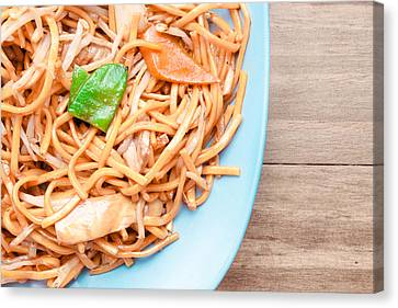 Take-out Canvas Print - Chow Mein by Tom Gowanlock