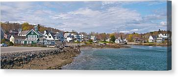 Chowder House Canvas Print - Chowdah House 0225 by Guy Whiteley