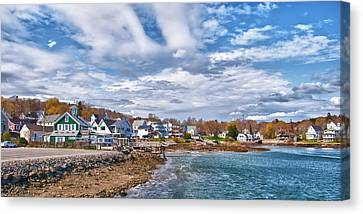 Chowder House Canvas Print - Chowdah House 0225h by Guy Whiteley