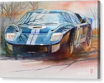 Chris Amon Canvas Print