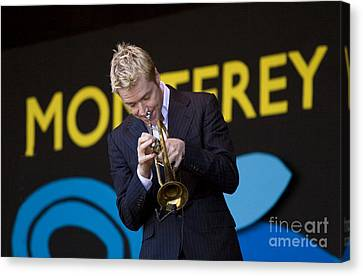 Chris Botti Plays Trumpet Canvas Print