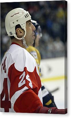Chris Chelios Canvas Print