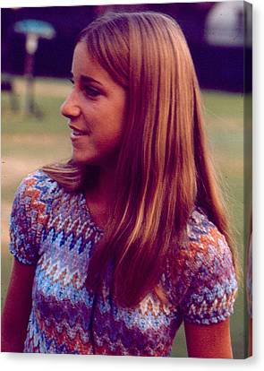 Australian Open Canvas Print - Chris Evert by Retro Images Archive