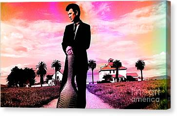 Chris Isaak Canvas Print by Marvin Blaine