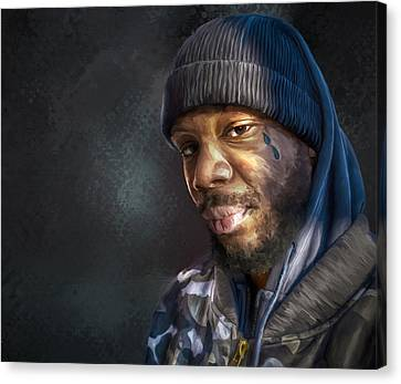 Chris Canvas Print