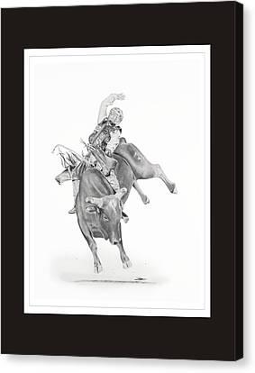 Chris Shivers  Canvas Print by Don Medina