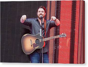 Chris Young Canvas Print