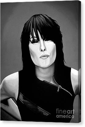 Chrissie Hynde Canvas Print