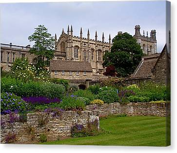 Universities Canvas Print - Christ Church In Spring by Rona Black