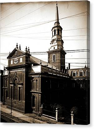 Christ Church, Philadelphia, Churches, United States Canvas Print by Litz Collection