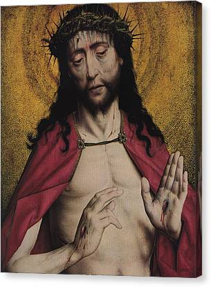 Christ Crowned With Thorns Canvas Print by American Classic Visions Gallery