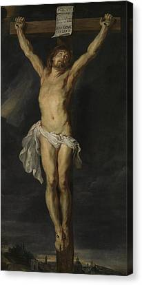 Christ Crucified Canvas Print by Peter Paul Rubens