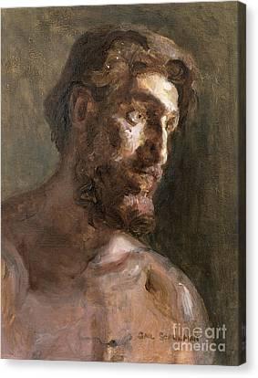 Christ Canvas Print by Gail Schulman