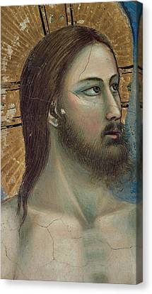 Christ Canvas Print by Giotto di Bondone