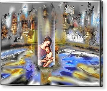 Christ Is Born 2009 Canvas Print by Glenn Bautista