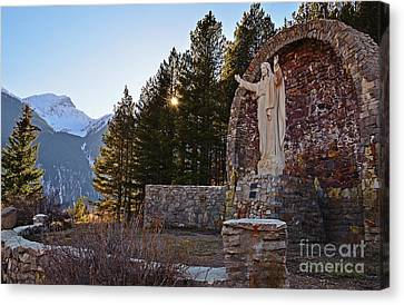 Christ Of The Mines Canvas Print