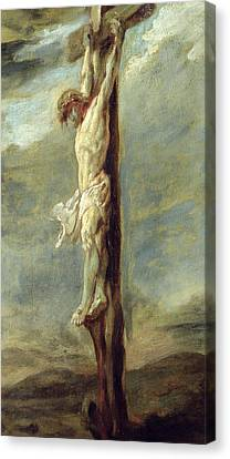 Peter Paul Rubens Canvas Print - Christ On The Cross by Rubens