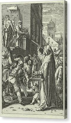Christ Presented To The People Ecce Gay Canvas Print
