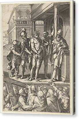 Christ Presented To The People Ecce Homo Canvas Print