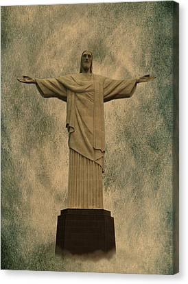 Christ The Redeemer Brazil Canvas Print