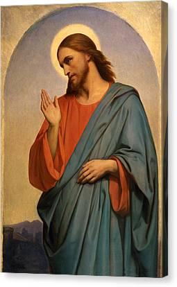 Christ Weeping Over Jerusalem Ary Scheffer Canvas Print