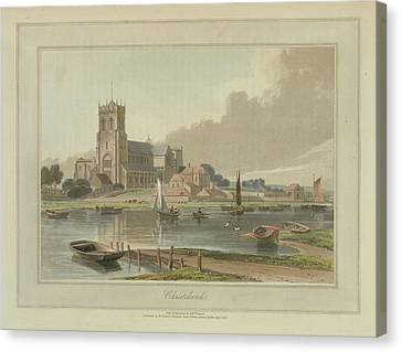 Christchurch Canvas Print by British Library