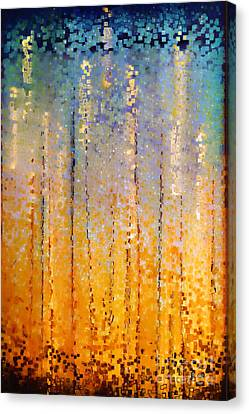 Christian Art- Everyone Who Calls. Romans 10 13 Canvas Print by Mark Lawrence
