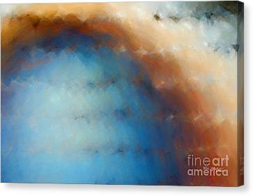 Christian Art- The Wind Drives Away. Psalm 1 4 Canvas Print by Mark Lawrence