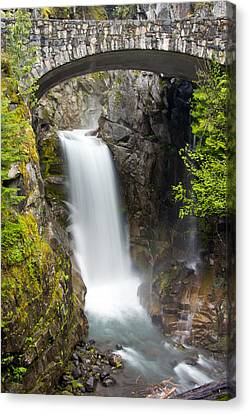Christine Falls Canvas Print by Bob Noble Photography