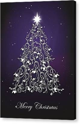 Canvas Print - Christmas 1-13 by Lee Wolf Winter