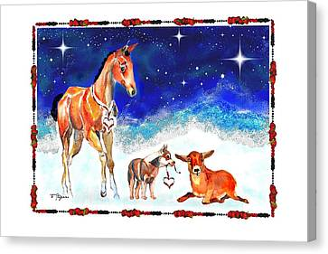 Christmas 4 Canvas Print