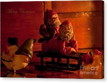 Christmas A Leisure Time Canvas Print