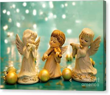 Christmas Angels 3 Canvas Print