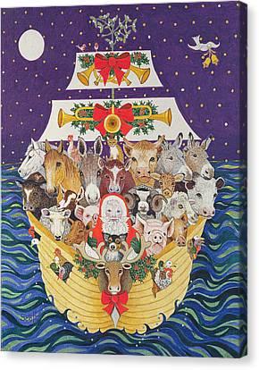 Christmas Arrival  Canvas Print by Pat Scott