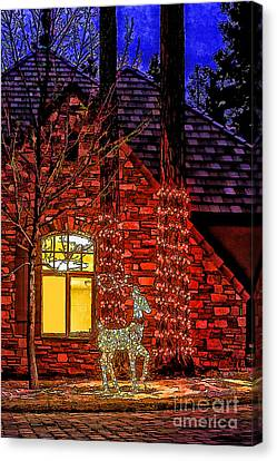 Christmas Card -2014 Canvas Print