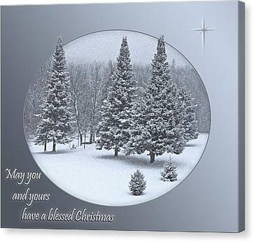 Christmas Card IIi Canvas Print