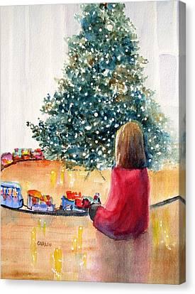 Christmas  Canvas Print by Carlin Blahnik