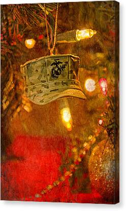 Christmas Cover  Canvas Print by Susan  McMenamin