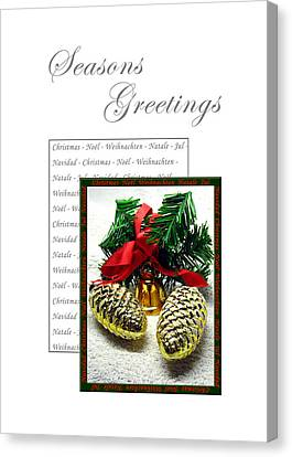 Christmas Decoration 2 Canvas Print