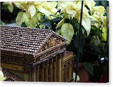 Display Canvas Print - Christmas Display - Us Botanic Garden - 01134 by DC Photographer