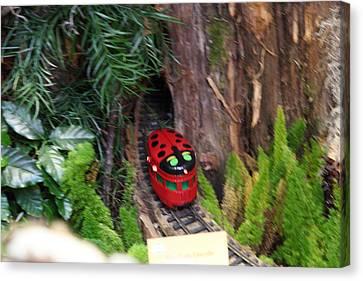 Christmas Display - Us Botanic Garden - 011344 Canvas Print
