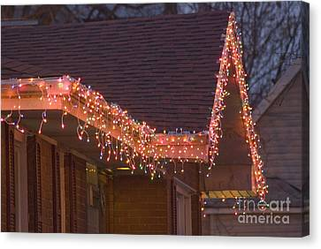 Christmas Eave Canvas Print by Jim Wright
