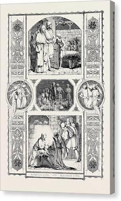 Christmas Eve And Christmas Day Canvas Print