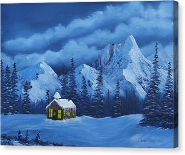 Christmas Eve Canvas Print by Bob Williams