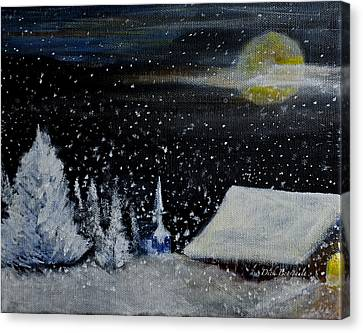 Christmas Eve Canvas Print